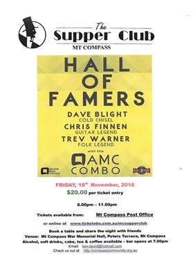 Hall of Famers – Trev Warner, David Blight, Chris Finnen & AMC Combo.