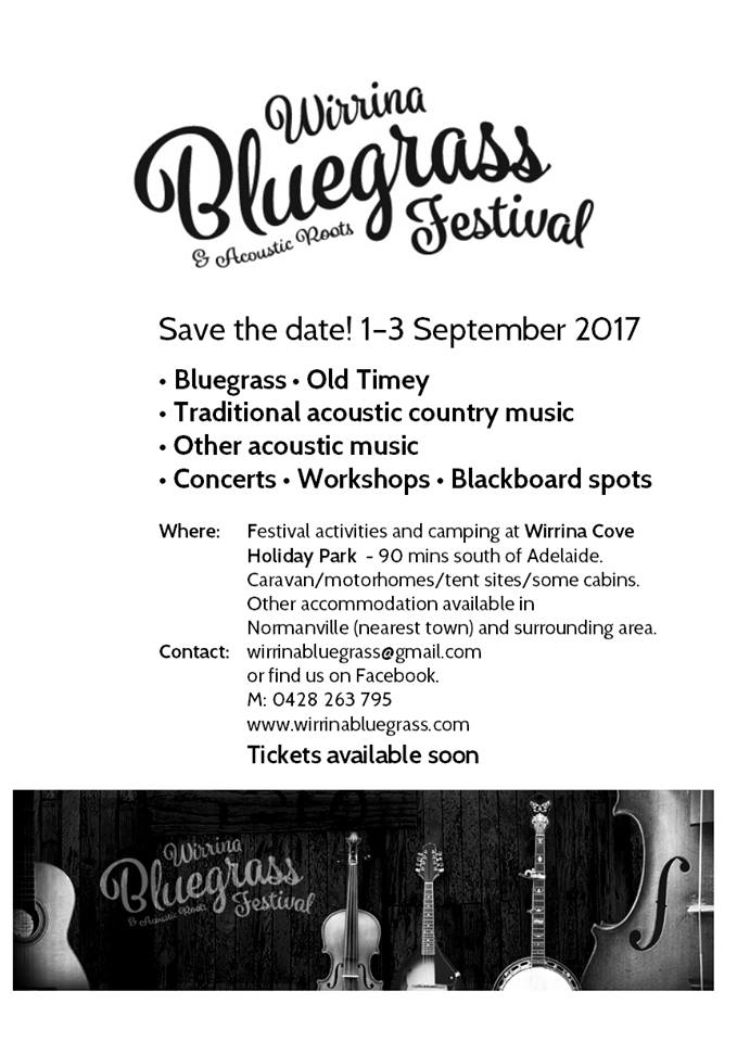Wirrina Bluegrass  & Acoustic Roots Festival