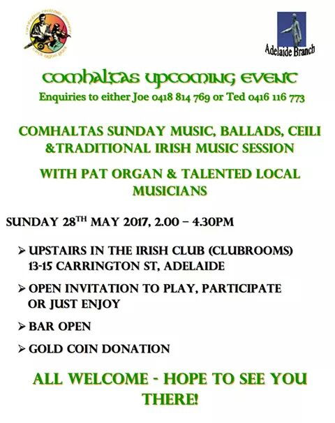 Irish Ballads & Ceilhi Session