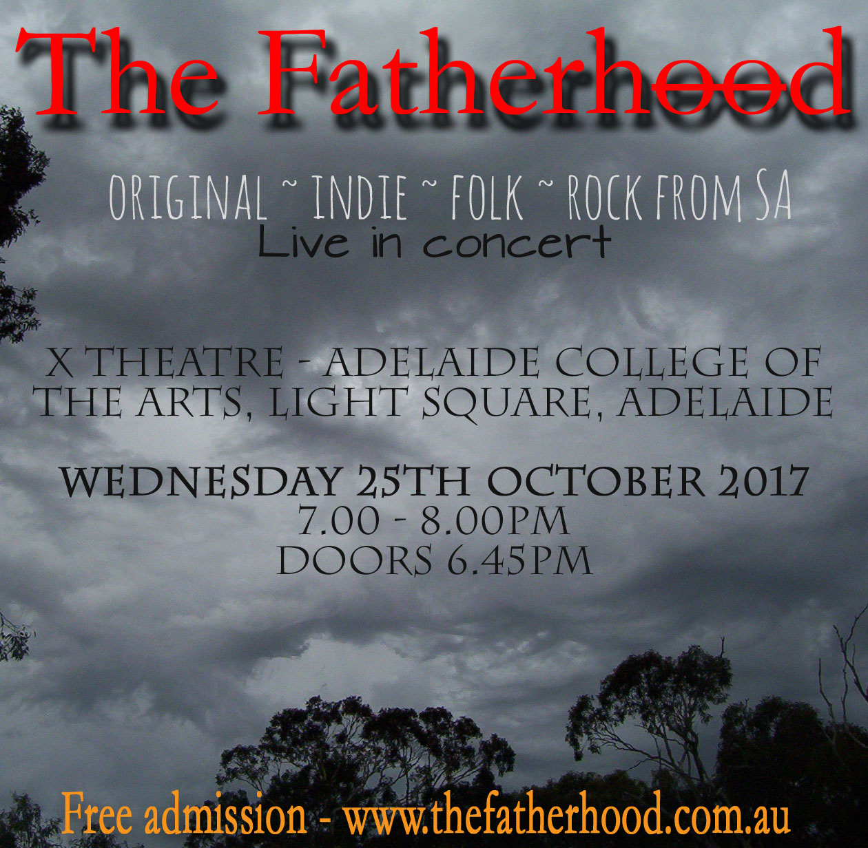 The Fatherhood – Live In Concert