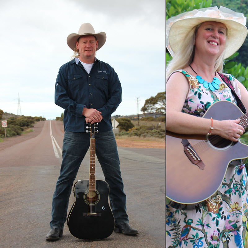 STEVE BARTEL AND KYLIE ADAMS-COLLIER UNPLUGGED