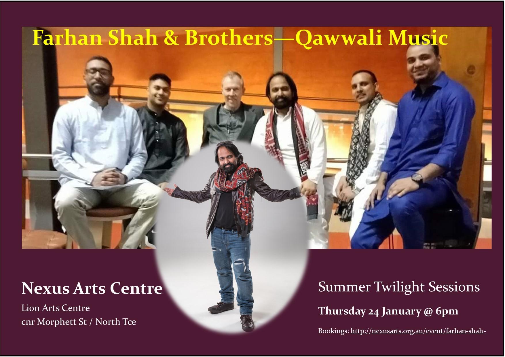 Farhan Shah & Brothers Qawalli