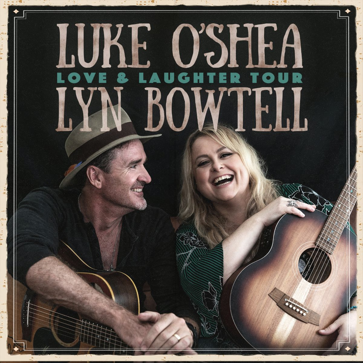 Luke O'Shea and Lyn Bowtell