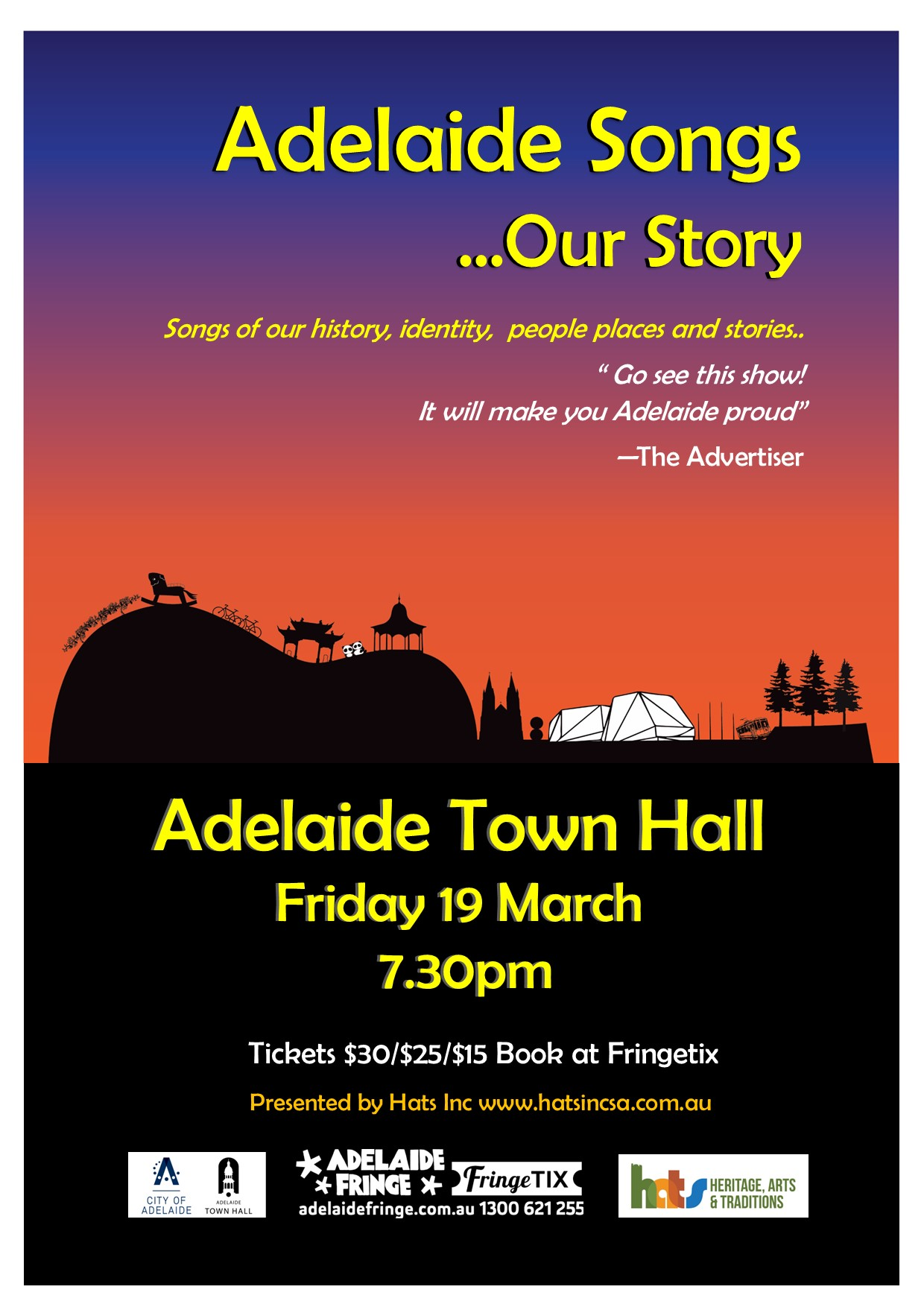 Adelaide Songs – Our Story