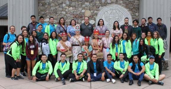 Cherokee has always been a big day for visiting Folkmoot performers!