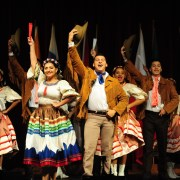 "Hey, y'all! Say, ""hello,"" in the languages of Folkmoot"