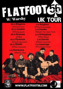 flatfoot56 Uk tour