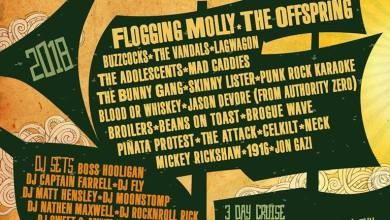 Photo of Flogging Molly Announce Dates And Lineup For 2018 Salty Dog Cruise