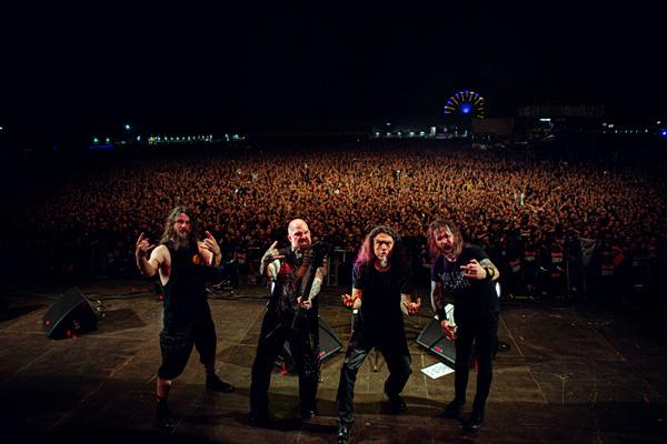 Slayer on Stage
