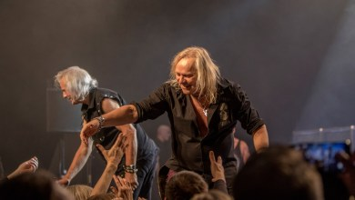 Photo of Uriah Heep And Melrose At Kulttuuritalo