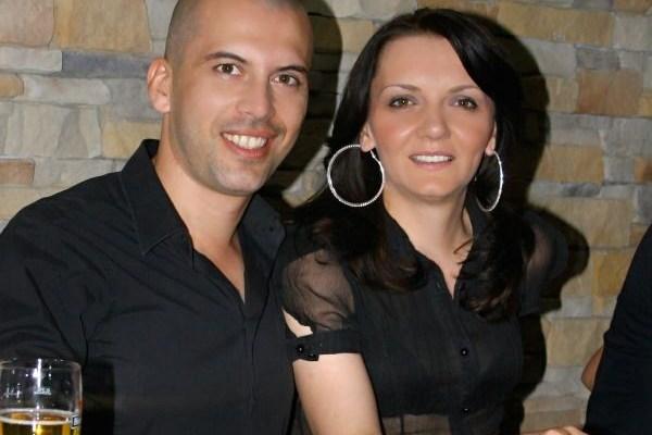 Milan Topalovic Topalko sa suprugom Vesnom