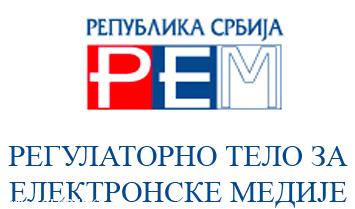 REM - regulatorno telo za elektronske medije