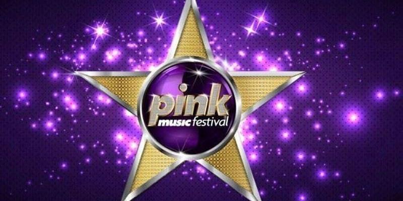 pink music festival logo