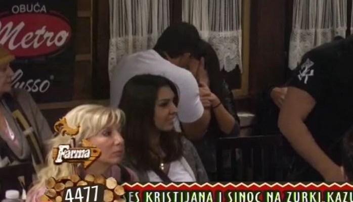 stanija i kristijan poljubac pred svima