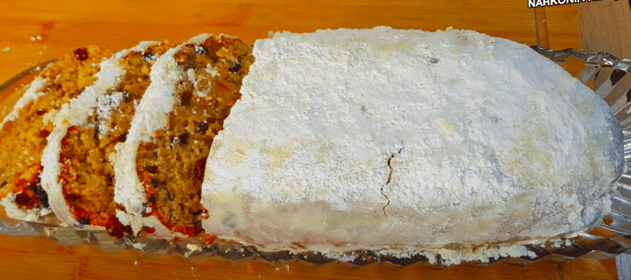 bozicni kolac stollen narkonia video recept
