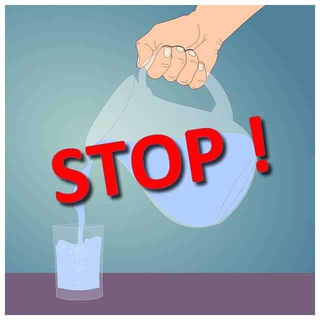 ne plus boire d'eau et être parfaitement hydraté