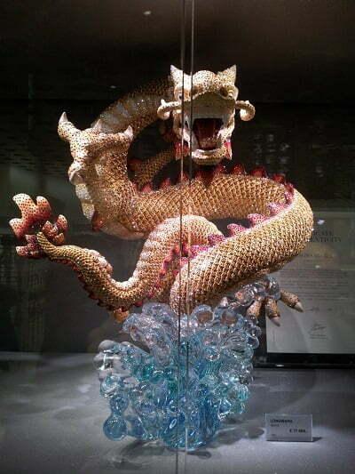 dragone Swarovski