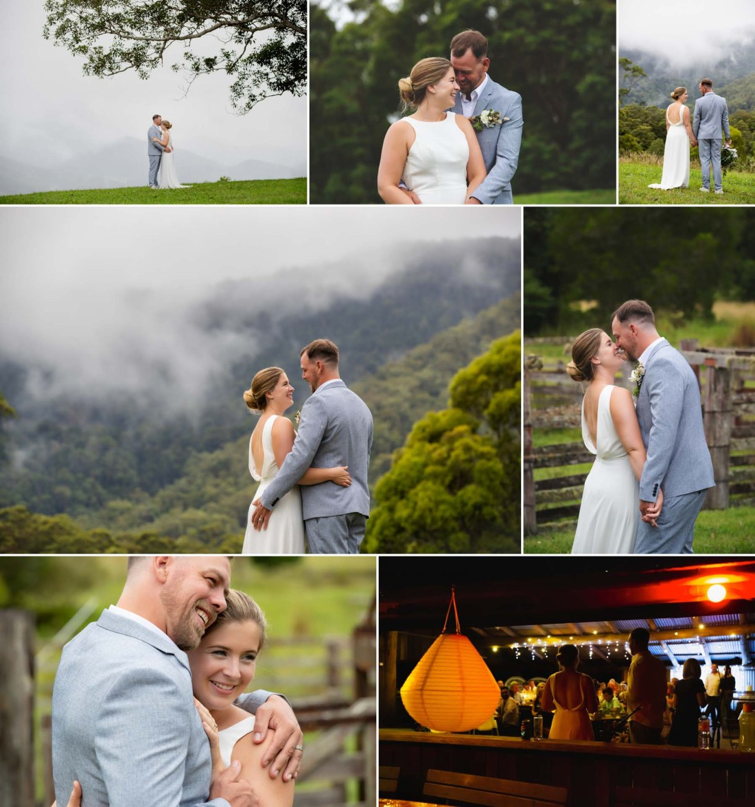 Midginbil Hill EcoResort Wedding Photographer