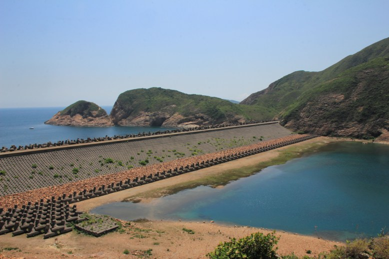 萬宜水庫東壩 High Island (East Dam)