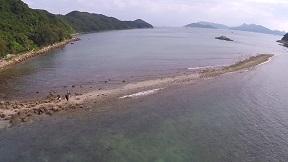 sharp island aerial01