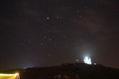燈塔與星空