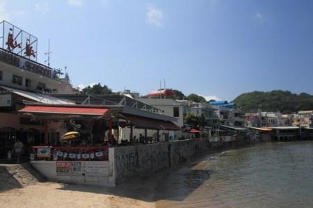 榕樹灣的食肆