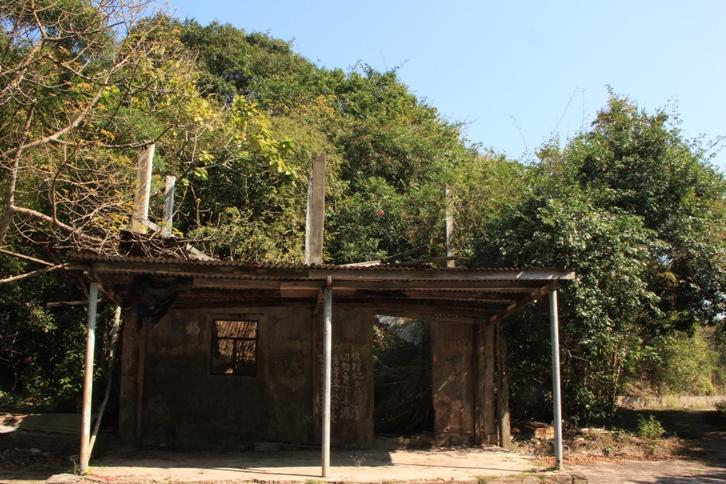 廢屋是村的地標
