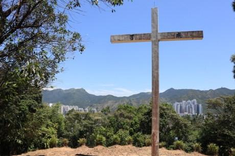 道風山上的十字架