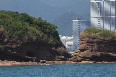 鴨頸的斷崖