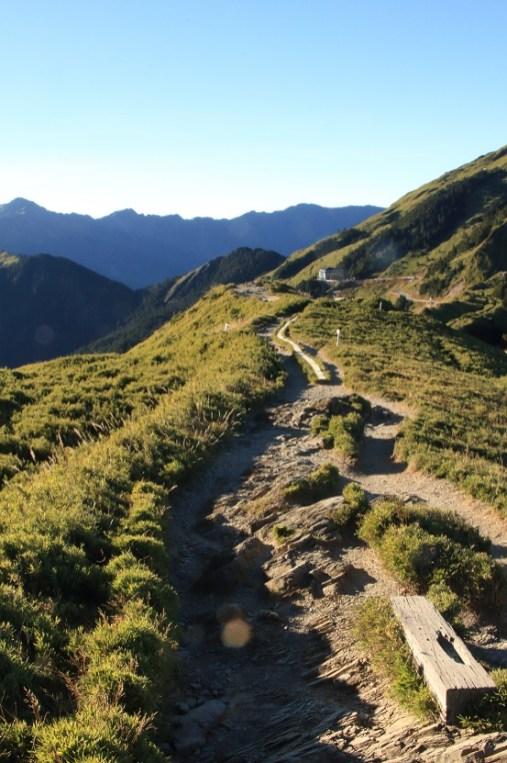 平緩的石門山步道