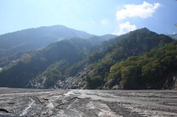 萬大溪的景色