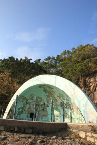 公園內的二號炮台