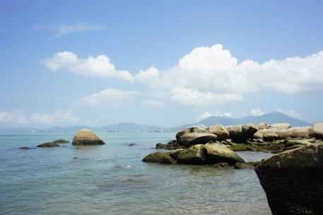 海岸奇石景觀