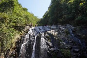 草裙瀑是玩瀑降的熱點