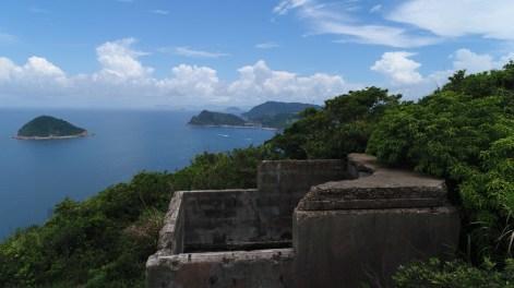餓死雞東北面的海防碉堡