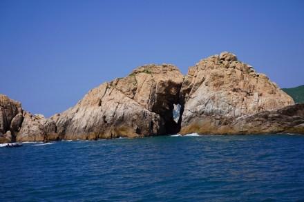 海蝕洞 — 「橫瀾洞」