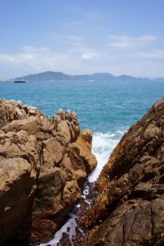 難得登上全港最當風的小島