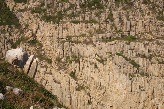 岩石形成奇幻的圖案