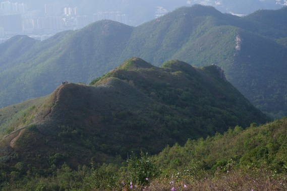 西脊稜線同樣迷人