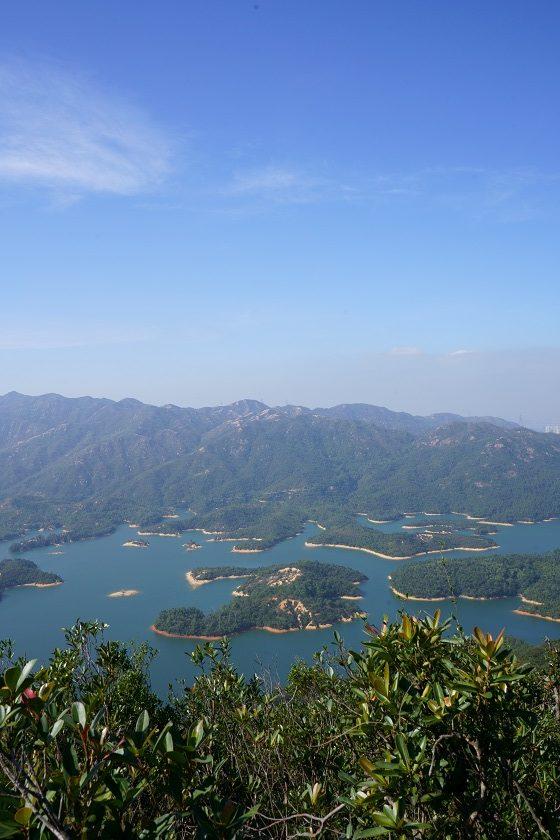 找開揚位置欣賞千島湖