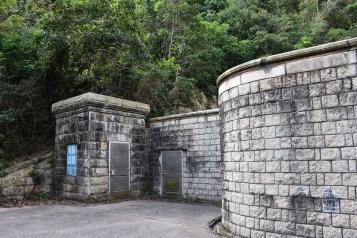 大潭上水塘隧道進水口及記錄儀器房