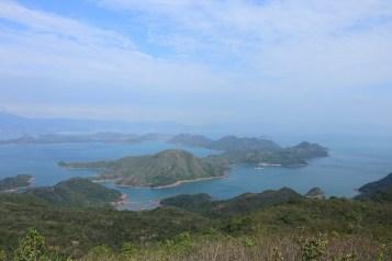 紅石門及往灣洲的風景
