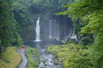 從觀景台欣賞白絲瀑布
