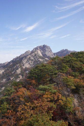海拔836米高的白雲台