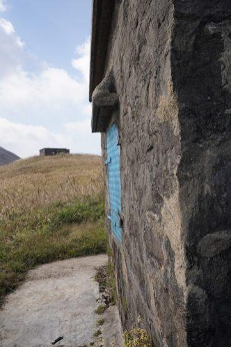 爤頭營的石屋