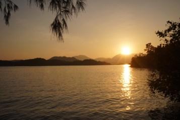 斬竹灣的日落