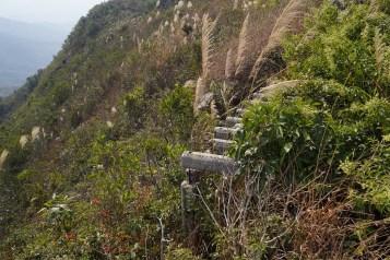山上的軍事遺跡