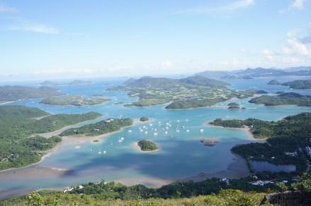 大小島嶼如星羅棋布
