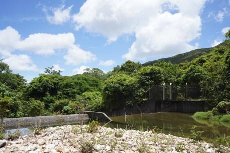 鳳大北坑的堤壩