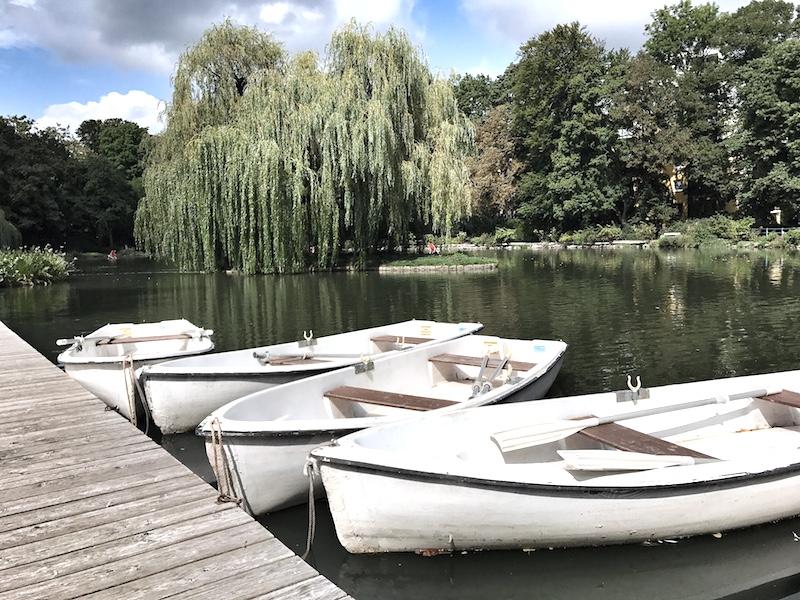 Ruderboote See Baden bei Wien
